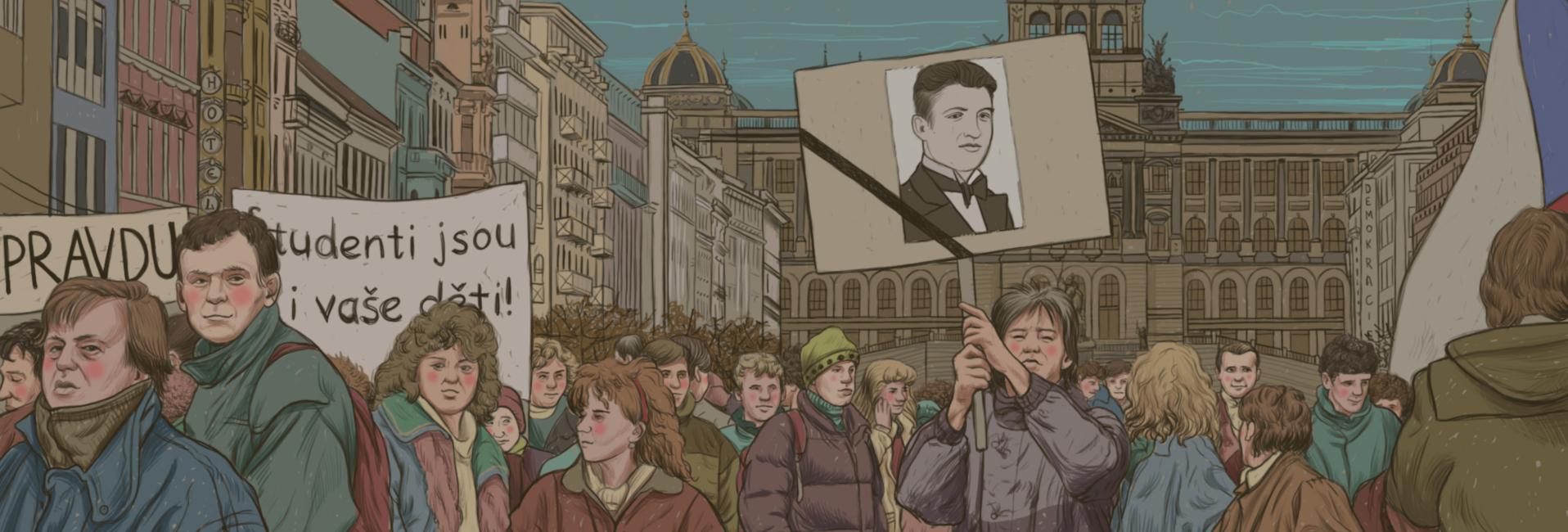 17. listopad 1989 v Praze